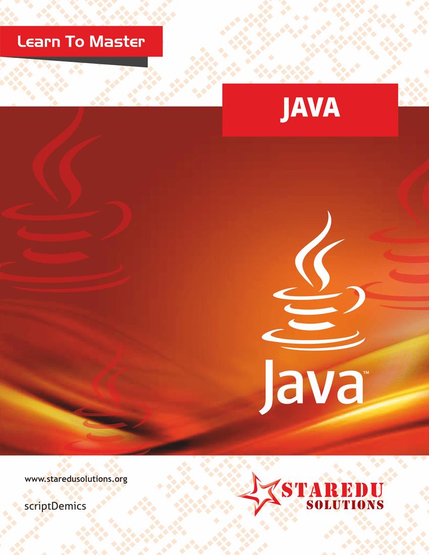 Java tutorials learn java online java programming pdf java learn to master java baditri Gallery
